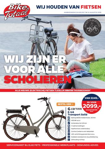 Bike Totaal reclame folder (geldig t/m 31-08)