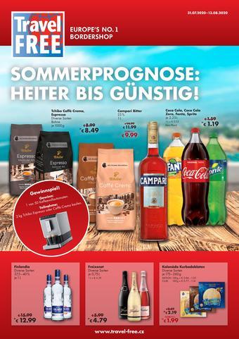 Travel Free Prospekt (bis einschl. 13-08)