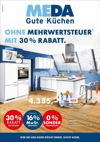MEDA Küchen Prospekt (bis einschl. 31-08)