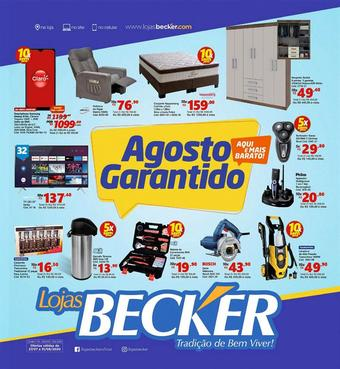 Lojas Becker catálogo promocional (válido de 10 até 17 31-08)