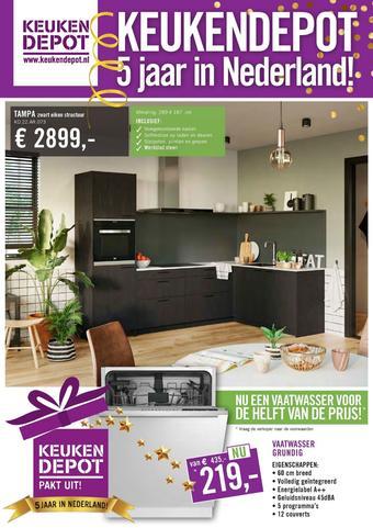Keukendepot reclame folder (geldig t/m 09-08)
