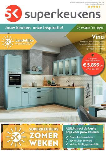 Superkeukens reclame folder (geldig t/m 09-08)