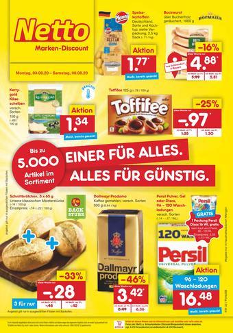 Netto Marken-Discount Prospekt (bis einschl. 08-08)