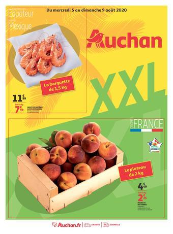 Auchan catalogue publicitaire (valable jusqu'au 09-08)