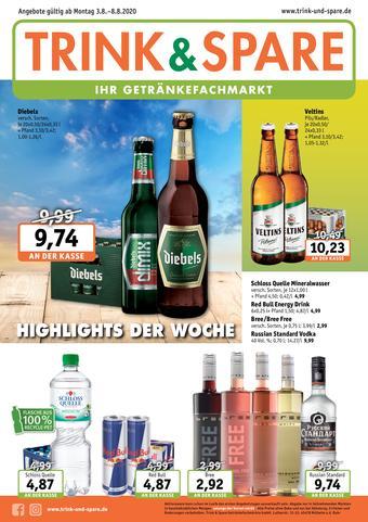 Trink und Spare Prospekt (bis einschl. 08-08)