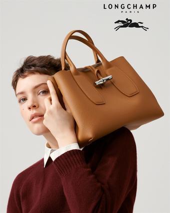 Longchamp catalogue publicitaire (valable jusqu'au 01-10)