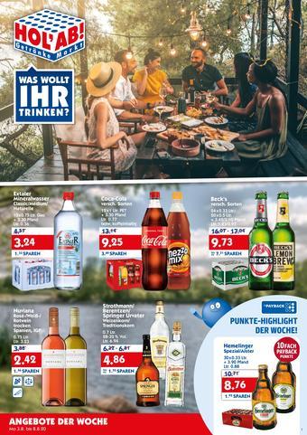 Hol'ab Getränkemarkt Prospekt (bis einschl. 08-08)