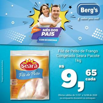 Berg's Supermercados catálogo promocional (válido de 10 até 17 16-08)