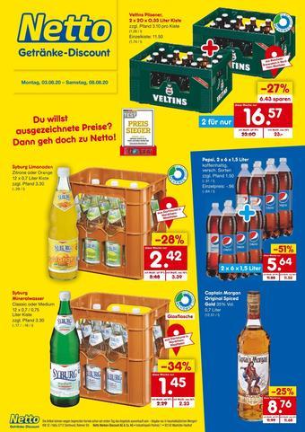 Netto Getränke Discount Prospekt (bis einschl. 08-08)