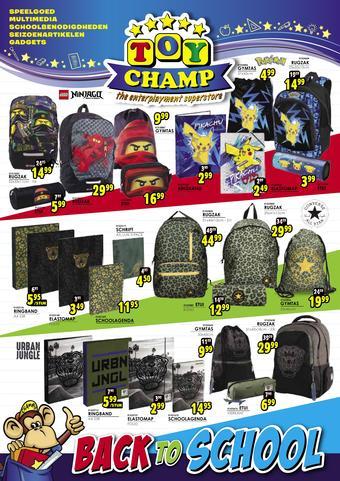 ToyChamp reclame folder (geldig t/m 06-09)