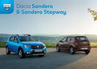 Dacia catalogue publicitaire (valable jusqu'au 31-12)