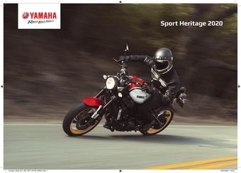 Yamaha catalogue publicitaire (valable jusqu'au 31-12)