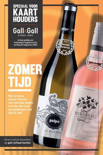 Gall & Gall reclame folder (geldig t/m 23-08)