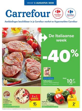 Carrefour reclame folder (geldig t/m 10-08)