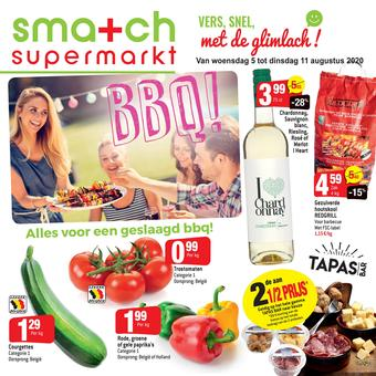 Smatch reclame folder (geldig t/m 11-08)