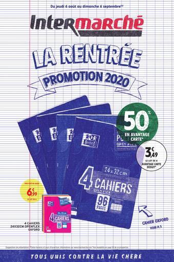 Intermarché Express catalogue publicitaire (valable jusqu'au 06-09)