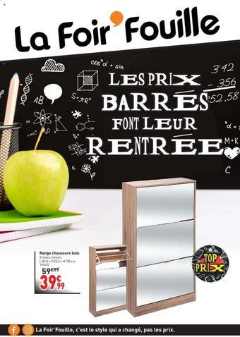 La Foir'Fouille catalogue publicitaire (valable jusqu'au 30-08)