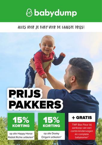 Baby-Dump reclame folder (geldig t/m 29-08)