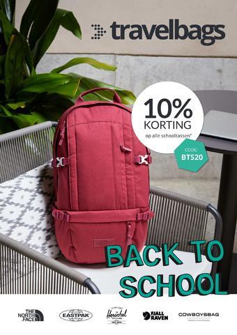 Travelbags reclame folder (geldig t/m 31-08)