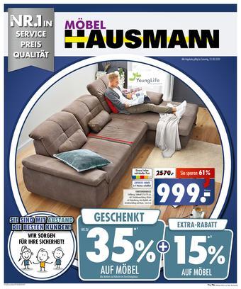 Möbel Hausmann Prospekt (bis einschl. 23-08)