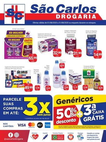 Drogaria São Carlos catálogo promocional (válido de 10 até 17 31-08)