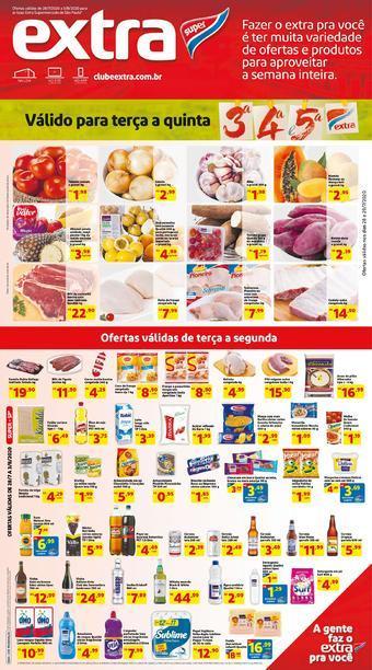Extra Supermercado catálogo promocional (válido de 10 até 17 05-08)