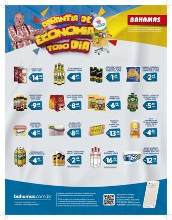 Bahamas Supermercados catálogo promocional (válido de 10 até 17 16-08)