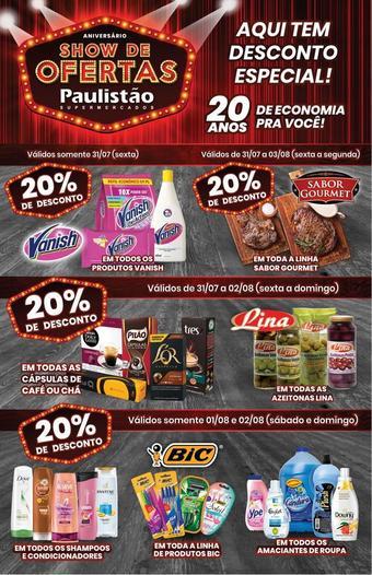 Paulistão Supermercados catálogo promocional (válido de 10 até 17 06-08)