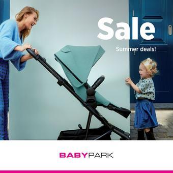 Babypark reclame folder (geldig t/m 17-08)