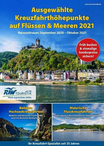 RIW Touristik Prospekt (bis einschl. 31-10)