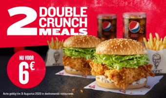 KFC reclame folder (geldig t/m 31-08)