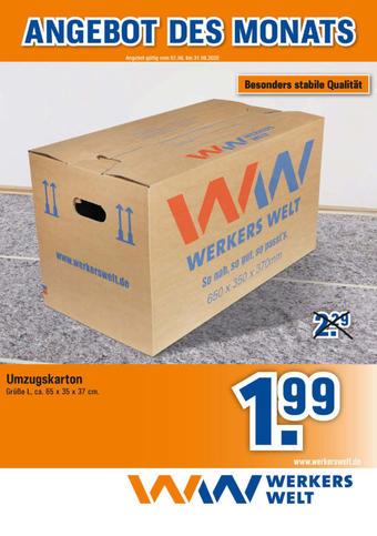 Werkers Welt Prospekt (bis einschl. 31-08)
