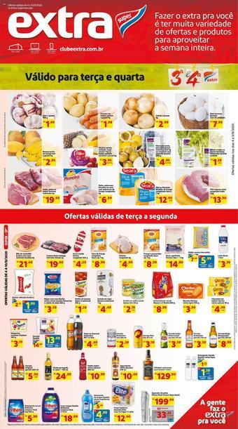 Extra Supermercado catálogo promocional (válido de 10 até 17 10-08)