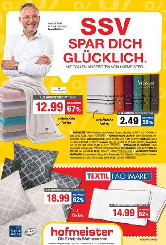 Hofmeister Prospekt (bis einschl. 25-08)