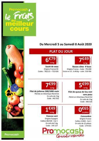 Promocash catalogue publicitaire (valable jusqu'au 08-08)