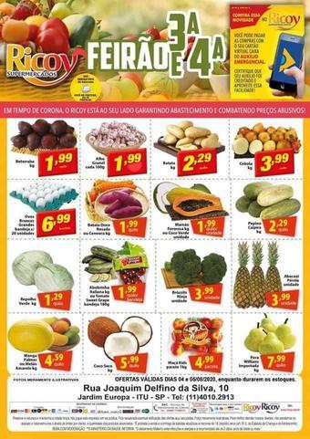 Ricoy Supermercados catálogo promocional (válido de 10 até 17 05-08)