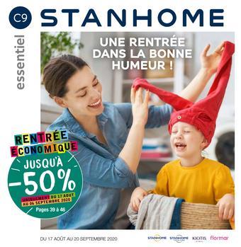 Stanhome catalogue publicitaire (valable jusqu'au 20-09)