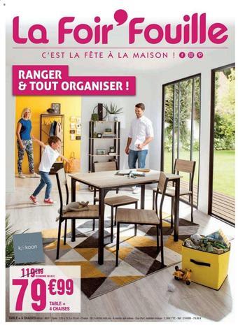 La Foir'Fouille catalogue publicitaire (valable jusqu'au 23-08)