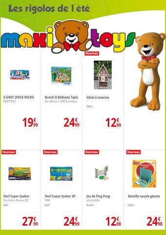 Maxi Toys catalogue publicitaire (valable jusqu'au 11-08)