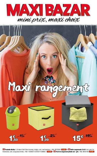 Maxi Bazar catalogue publicitaire (valable jusqu'au 16-09)