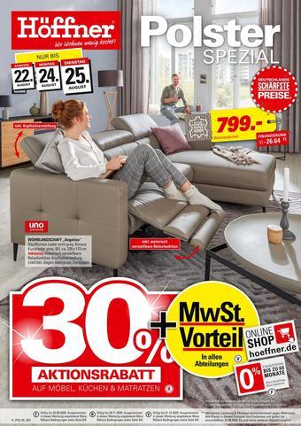 Höffner Prospekt (bis einschl. 25-08)