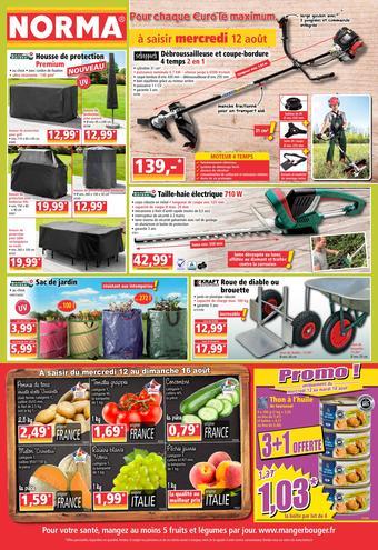 Norma catalogue publicitaire (valable jusqu'au 18-08)