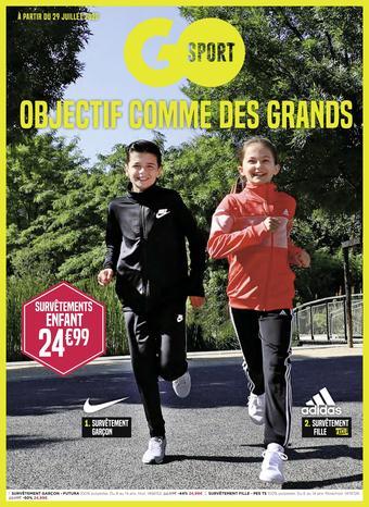 Go Sport catalogue publicitaire (valable jusqu'au 24-08)