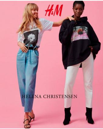 H&M reclame folder (geldig t/m 26-10)