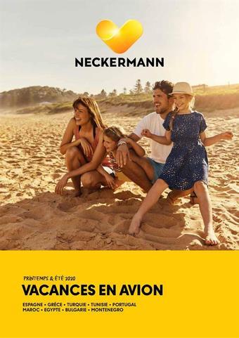 Neckermann Reizen reclame folder (geldig t/m 21-09)