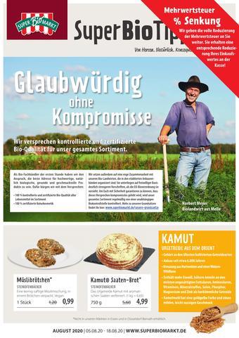 Superbiomarkt Prospekt (bis einschl. 18-08)