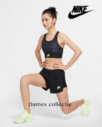 Nike reclame folder (geldig t/m 30-09)