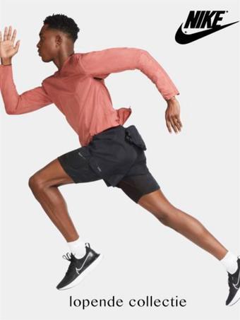 Nike reclame folder (geldig t/m 05-10)