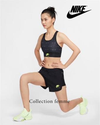 Nike catalogue publicitaire (valable jusqu'au 30-09)