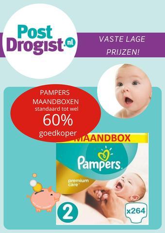 Postdrogist.nl reclame folder (geldig t/m 23-08)